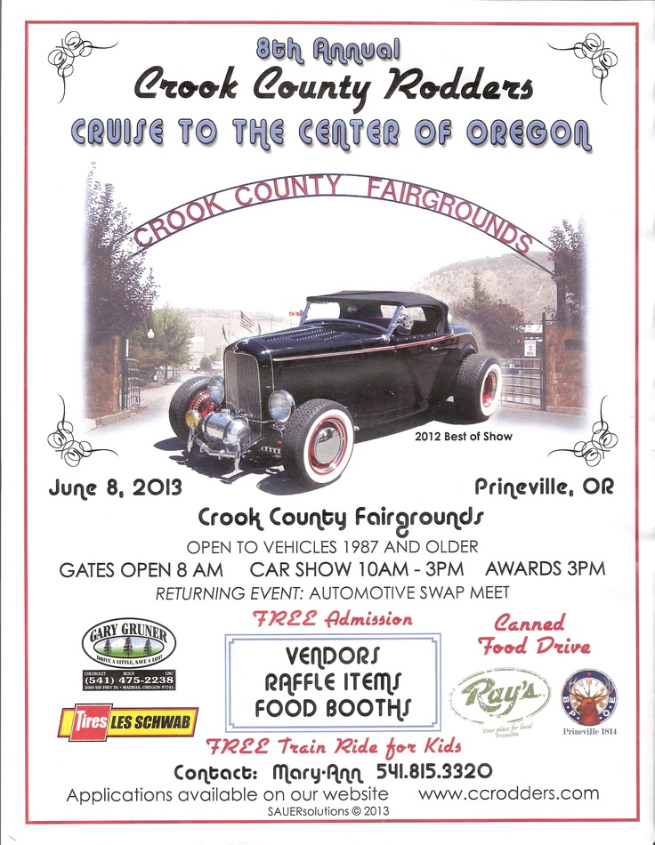 8th Annual Cruise to the Center of Oregon  6/8/2013