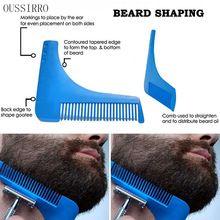 New 2016 OUSSIRRO Beard Beard Bro Shaping Tool.  Perfektní Lines Symmetry Mustache Groom holení Hřeben (Čína (pevninská část))