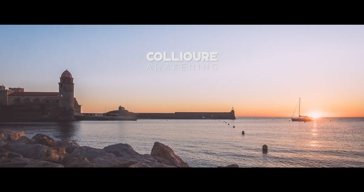 An early sunrise walk this summer in Collioure, one of the most beautiful city of the French Mediterranean coast.