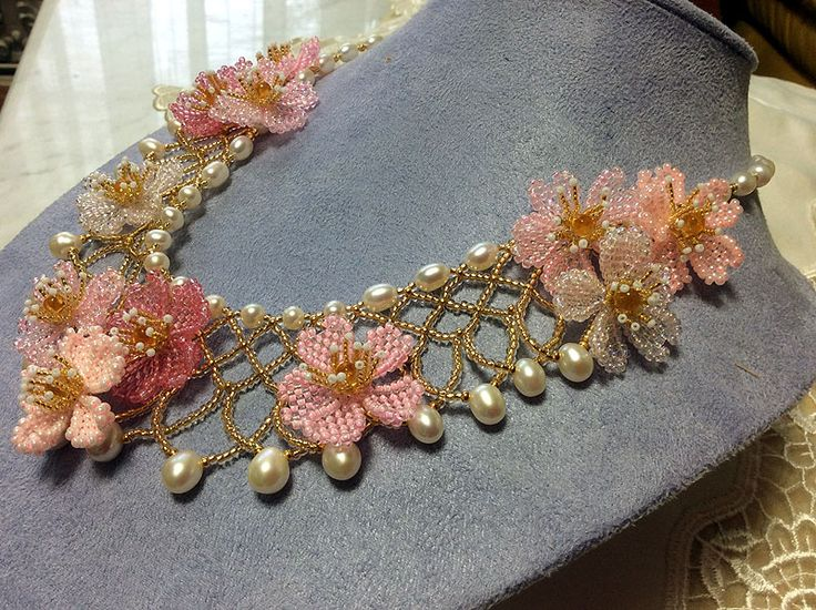 The BeadSmith Presents: Sakura Necklace - Bead&Button Show