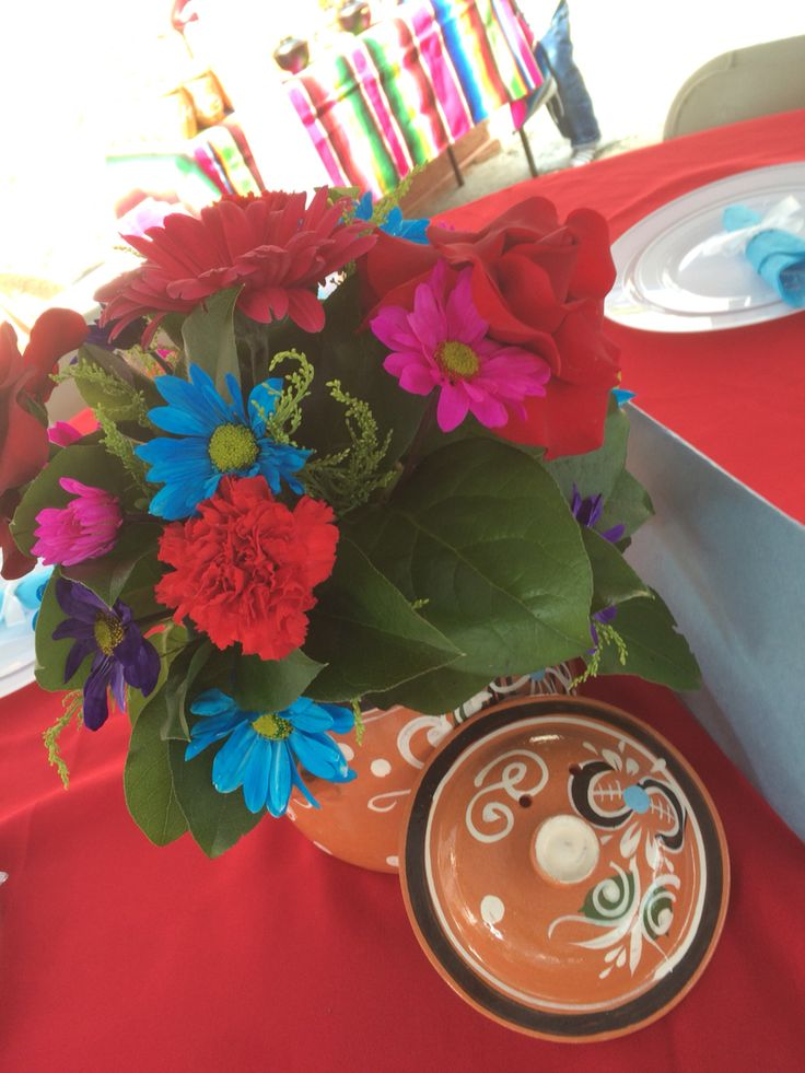Fiesta Party Table Decorations