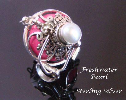 402 best harmony balls images on pinterest 925 sterling silver harmony ball with a freshwater pearl under 60 aloadofball Gallery