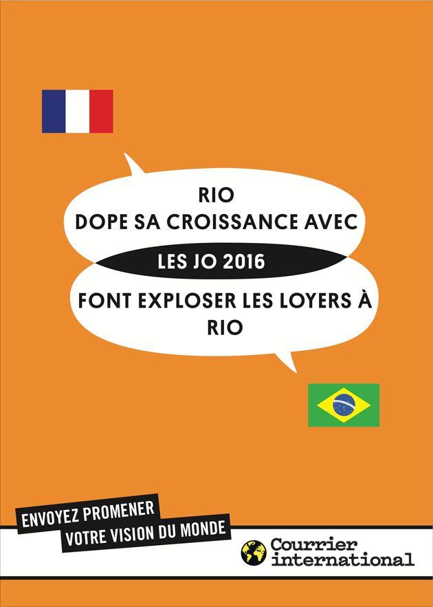 Courrier International. Envoyez promener votre vision du monde. BETC Paris, 2012