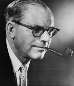 Bennett Cerf, publisher, humorist, What's My Line panelist. May 25, 1898 - August 27, 1971
