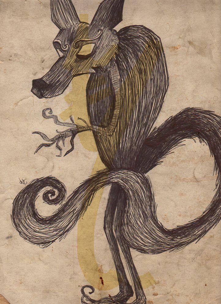 The wolf by yrieden92 on DeviantArt