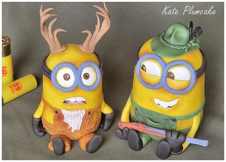 Minion hunter and stag by Kate Plumcake