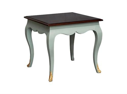 Louis Style Lamp Table Turquoise. Measurements 630 x 630 x 600.