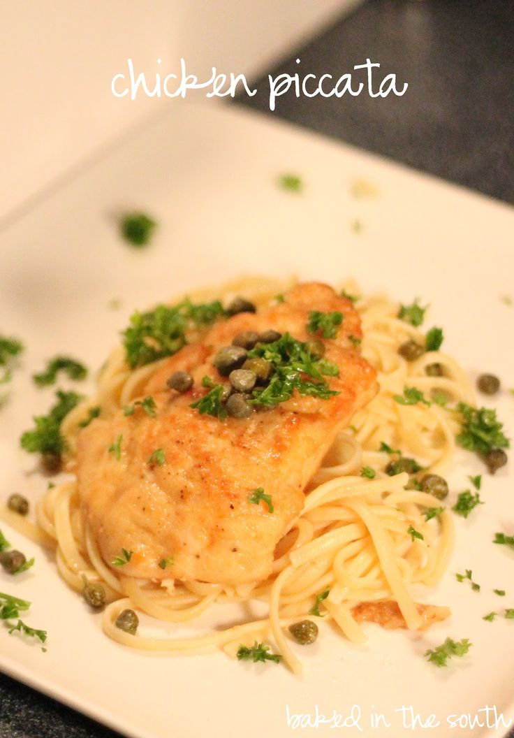Giada's Chicken Piccata | Baked in the South