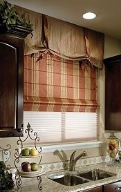 Rustic Window Treatments Complement