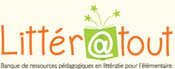 Littératout... bon site web pour des centres de littératie et des affiches de classe