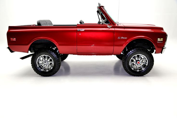 1970 Chevrolet K5 Blazer Crimson Red Metallic