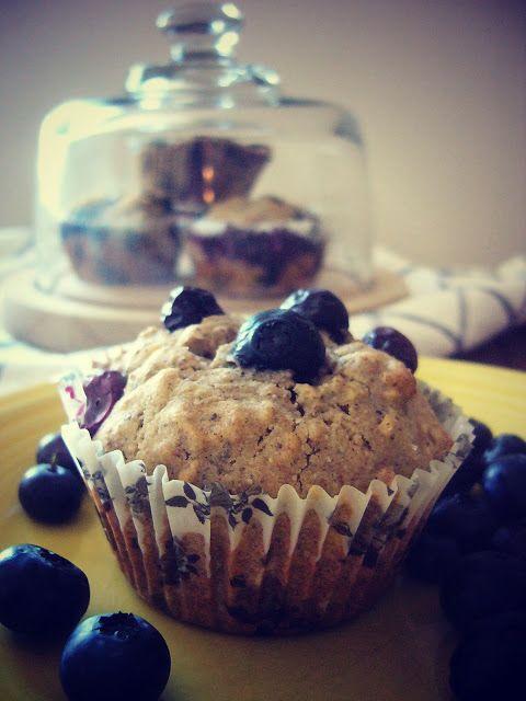 Gluten-Free Blueberry Oatmeal Muffins