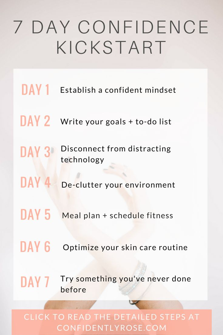 I used to be extremely shy and insecure. Now, I successfully run my own business and live each day with confidence, love, and gratitude. I am proud of how much progress I have made and I want to help you do the same! Based on the research I have done and the lessons I have learned regarding confidence, I have designed my 7 Day Kickstart to Build Confidence course. I believe this course will help anyone to get on the right track to creating a confident life. Click to learn how YOU can start…