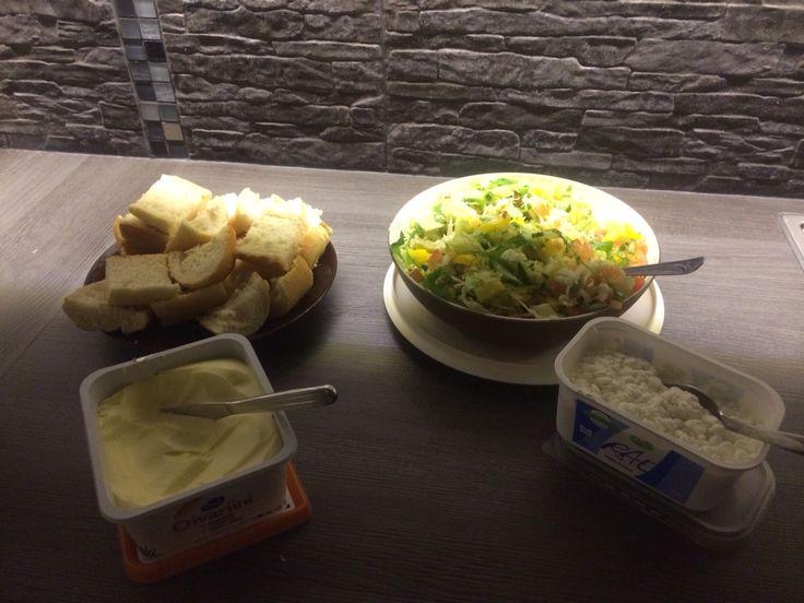 Patonki ja salaattia