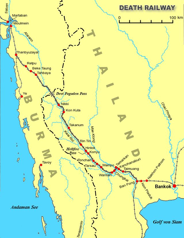Death Railway - Burma Railway - Wikipedia, the free encyclopedia