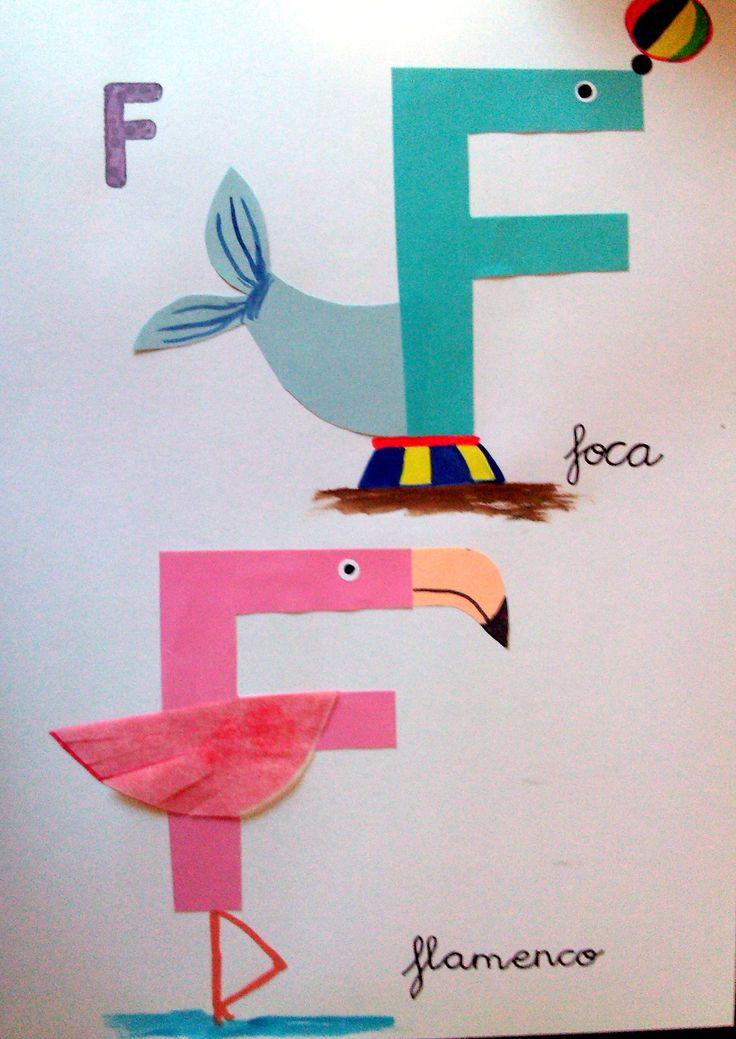 17 mejores ideas sobre letras divertidas de ni os en - Letras decorativas para ninos ...
