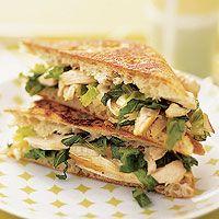 Chicken Caesar Panini: Chicken Recipe, Chicken Salad, Easy Chicken, Rotisserie Chicken, Paninis Recipe, Chicken Caesar, Sandwiches Recipe, Food Recipe, Caesar Paninis