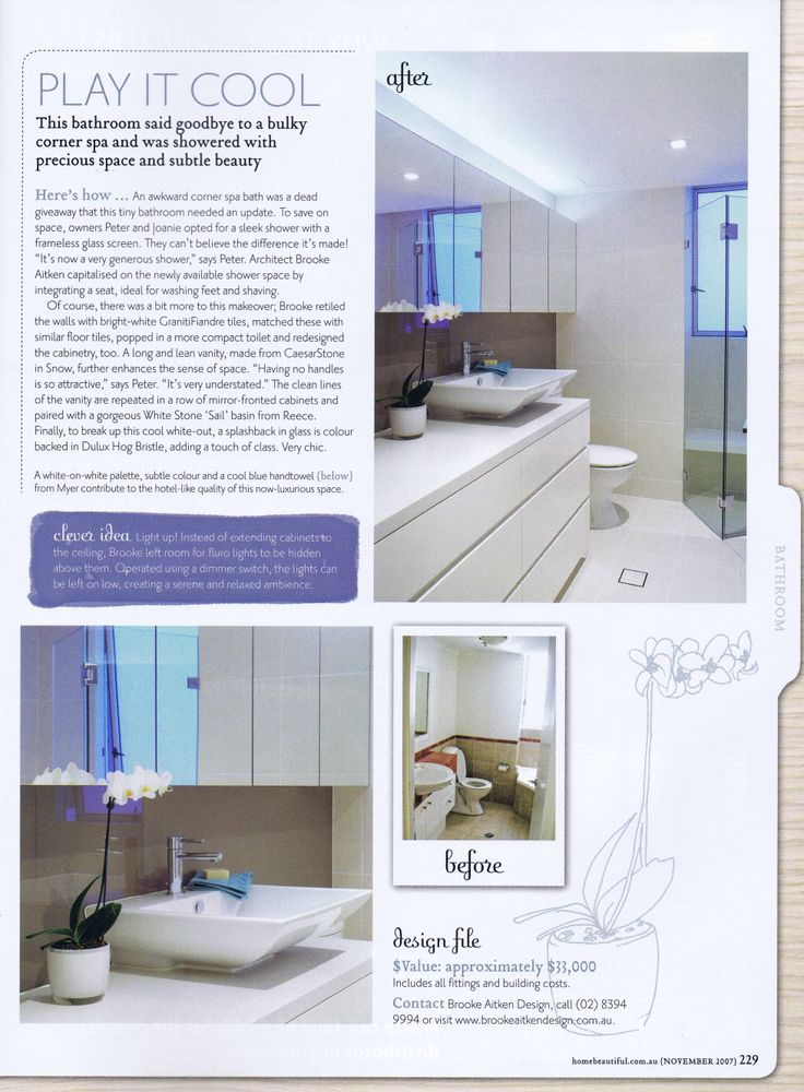 Australian Home Beautiful Pg 7 Brooke Aitken Design