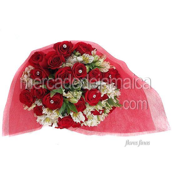 Ramos Florales Rosas Rojas Todo Nuestro Amor !| Envia Flores