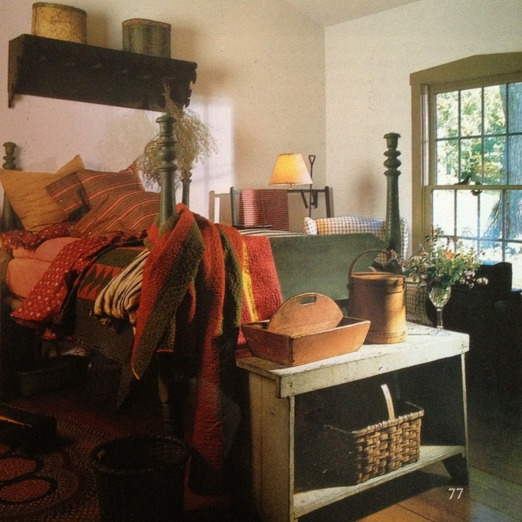 Bedroom In Home Of Joan Lucas As Seen In Cl Magazine