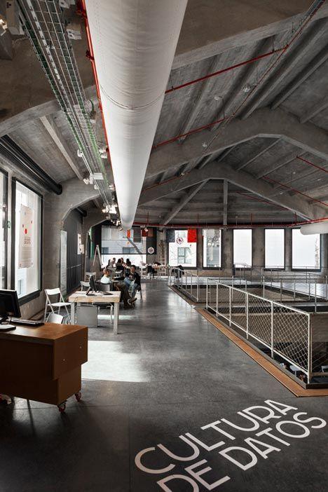 Medialab-Prado - Madrid, Espanha / Langarita-Navarro Arquitectos