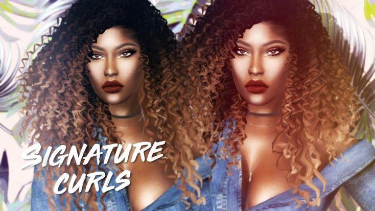 Curly Hair Style Download di 2020 | Gaya rambut, Rambut, Model