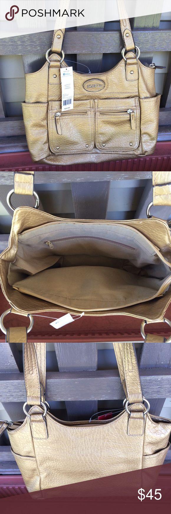 ❗️Last 1❗️Rosetti Gold Shoulder Bag Handbag Purse Brand new with tags. Bundle and save5%! ❌Price is firm unless bundled❌ Rosetti Bags Shoulder Bags