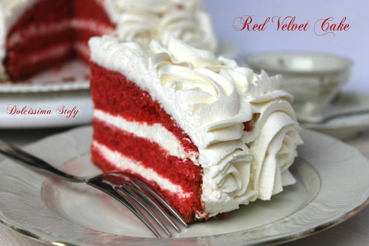 Red Velvet Cake,la Torta di Velluto Rosso