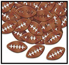 Football Banner Free Printable. Free printable football decorations. DIY football banner printable. Easy decor for super bowl party or kids football party.