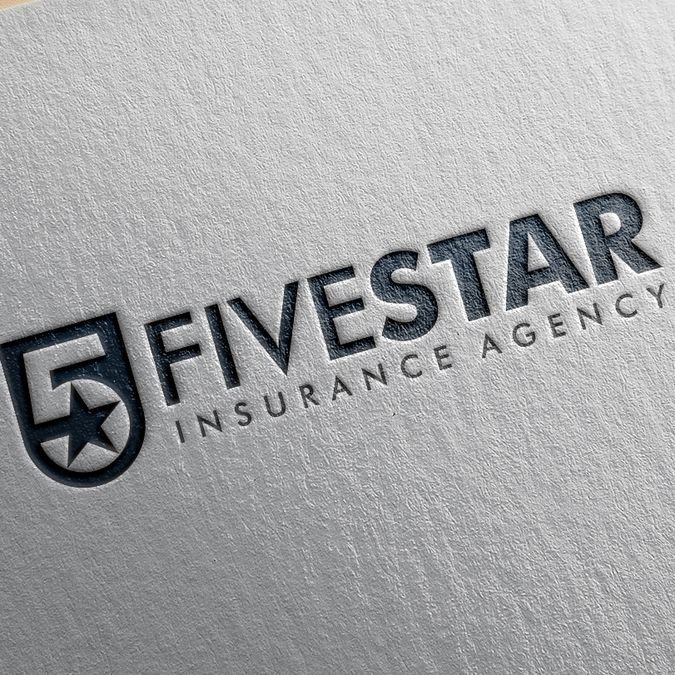 Five Star logo for a Five Star company by ☆SR☆