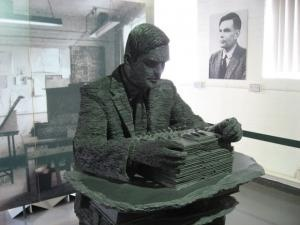 Alan Turing : Father Of Modern Computing Science : A new exhibition at the Spencer Museum of Art at Kansas University, entitled 'Cryptograph', celebrates Alan Turing, a visionary British mathematician whose work formed the conceptual basis for the modern computers that we use today / @kcur   #AlanTuringYear
