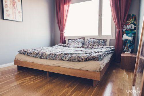 Cherry tree futon bed frame