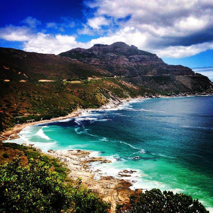 Chapmans peak , Hout Bay , Cape Town South Africa