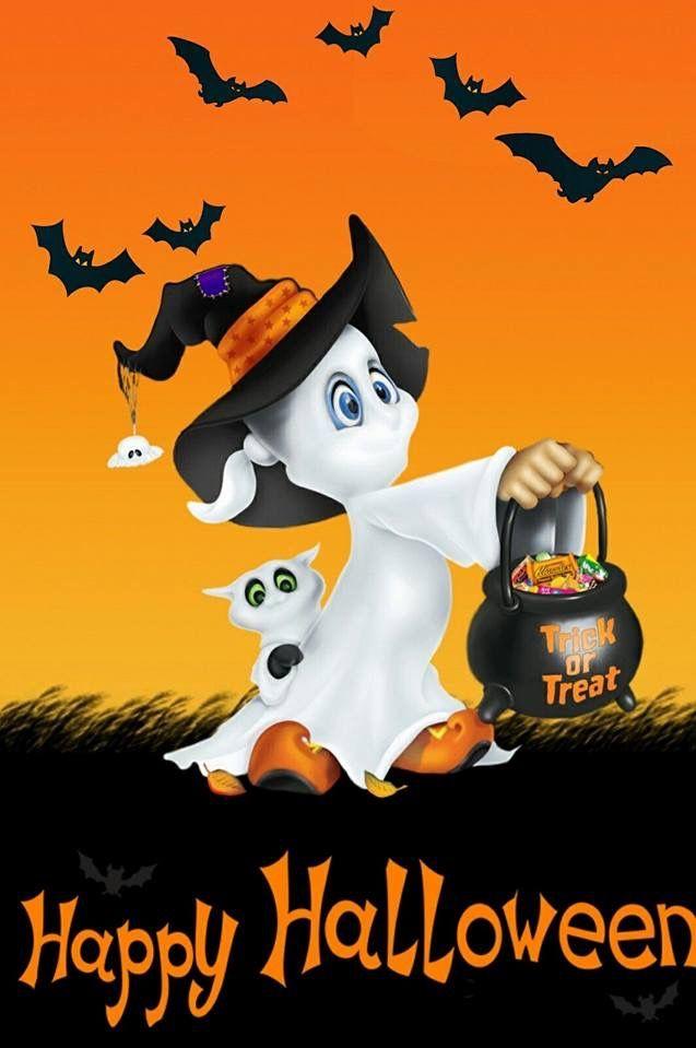 Casper Halloween Wallpaper