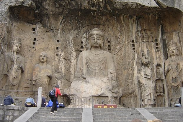 China's finest royal cave temple opens to the public