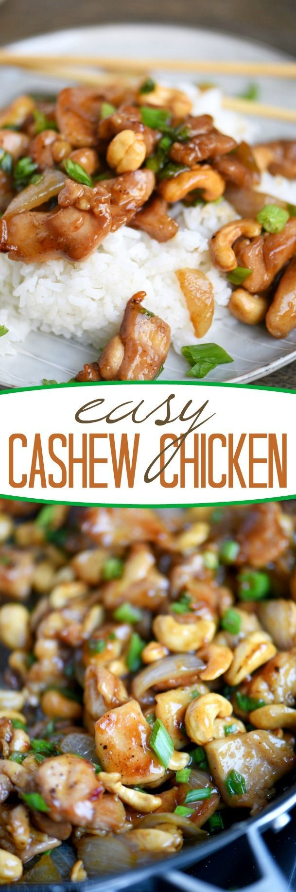 No Bake: Easy Cashew Chicken - Mom On Timeout