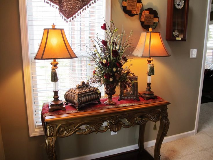 Warm Home Decor Love Tassels On Lamps Decor Foyer