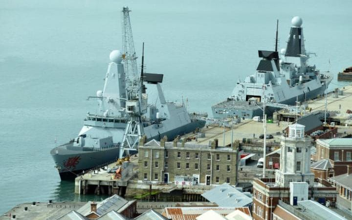 British warships 'so noisy' Russian submarines can hear them 100 miles away