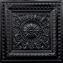 faux tin ceiling tile black - Faux Tin Ceiling Tiles