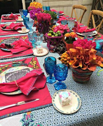 """LOVE this """"Neon Mexican"""" wedding theme- Help Whitney Port Pick Her Wedding Theme With These Four Stunning Inspiration Boards"""