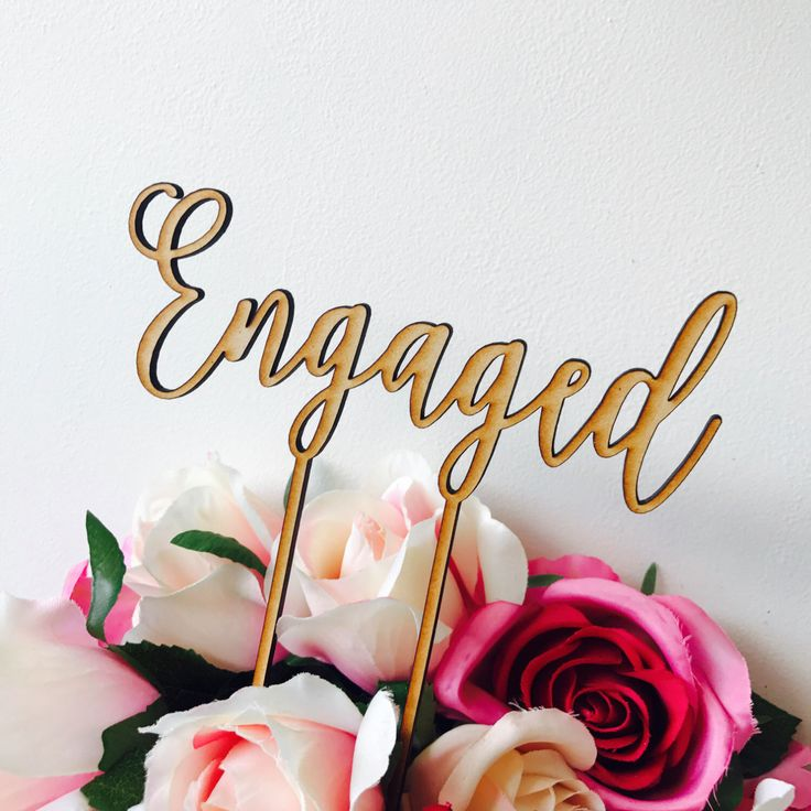 Engaged cake topper by Sugarboo personalized cake toppers we are engaged Cake Topper Cake Decoration Cake Decorating Engagement Cake CHLT by SugarBooBespokeGifts on Etsy https://www.etsy.com/au/listing/489822990/engaged-cake-topper-by-sugarboo