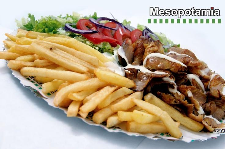 Kebab – Piatto Kebab