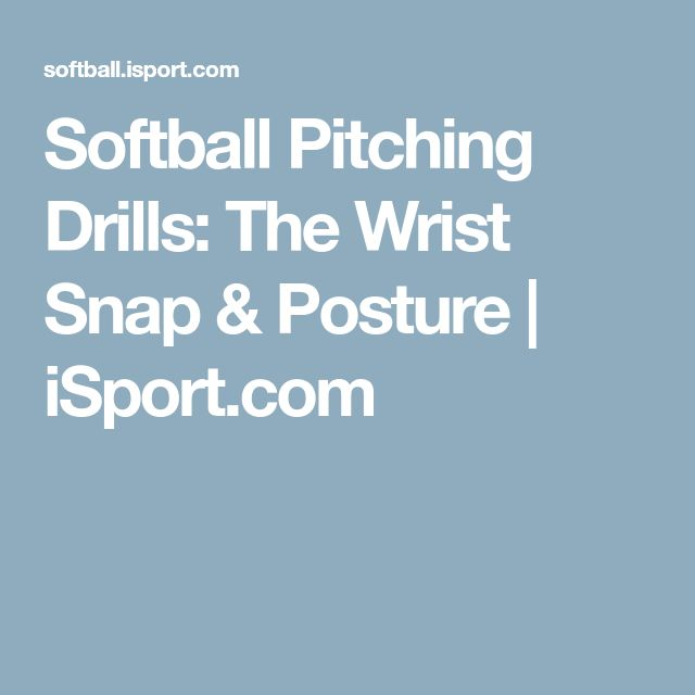 The  Best Softball Pitching Drills Ideas On
