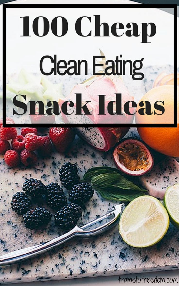 Are you in need of ideas for clean eating snacks? Check out this list of healthy snack ideas that are budget friendly!