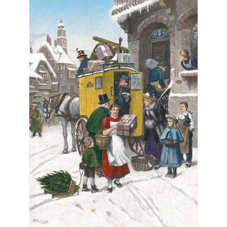 1000 bilder zu alte postkarten auf pinterest vintage - Bilder weihnachtspost ...