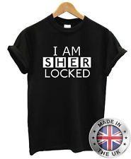 """Sherlock Holmes """"I Am Sherlocked"""" T-shirt S-XXL Para Hombre Para Mujer"""