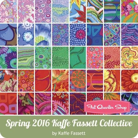 Spring 2016 Kaffe Fassett Collective Fat Quarter Bundle<br/>Kaffe Fassett for Westminster Fibers