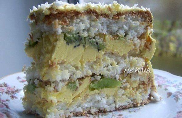 "Торт ""Кокосовый"" | Школа шеф-повара"