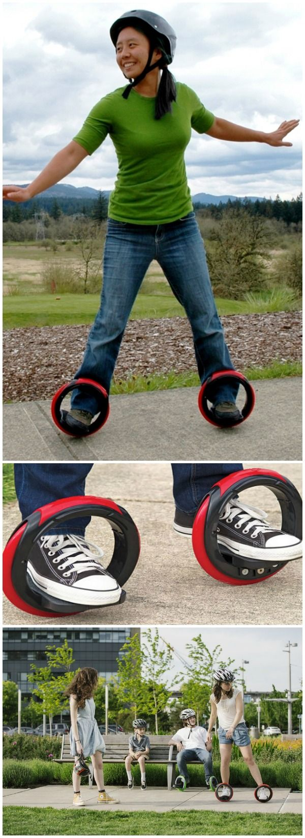 OrbitWheels. These are real and you can buy them today. They are cross between a skateboard and a pair of inline skates. #affiliate