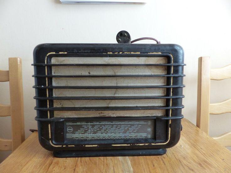 Stare radio lampowe Tesla